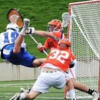 Lacrosse Diving Goal